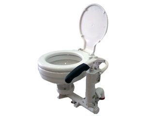 Marine Manual (Hand Pump) Toilet/head for Boat, Rv & Caravan - Five Oceans