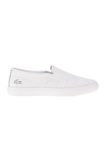 Lacoste Donna Bianco Gazon Slip On Sneaker-UK 7
