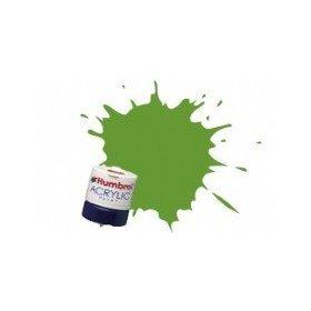 Humbrol Acrylic Paint, Lime - 1