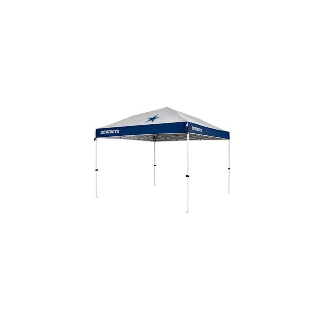 Dallas Cowboys NFL First Up 10x10 Tailgate Canopy by Northpole Ltd. (Straight Leg)