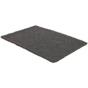 Norton Bear-Tex General Purpose Non-Woven Abrasive Hand Pad, Good Performance, Gray Color, Silicon Carbide, Grit Very Fine (Pack of 40)
