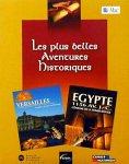 echange, troc Coffret Versailles + Egypte