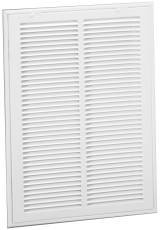 Side Return Filter Grille 20 In. X 20 In. White