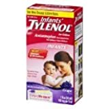 Infants' Tylenol Pain Reliever-Fever Reducer Oral Suspension, 1 fl. oz. (30 ml) ,Grape Flavor