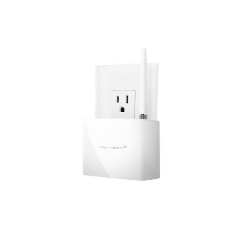 Amped Wireless High Power 600Mw Compact Wi-Fi Range Extender (Rec10) Pc, Personal Computer