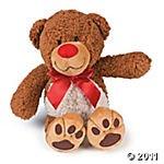 Plush Cuddly Bear Valentine's Day Gift