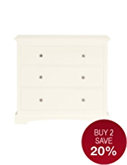 Carmelle 3 Drawer Chest