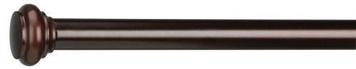 Umbra Capella 48-Inch-by-88-Inch Drapery Rod, Bronze