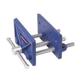 Westward 10D720 Bench Vise, Woodworking, Clamp-On, 6-1/2 In