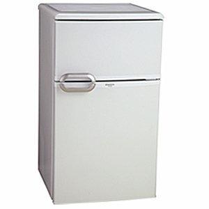 MORITA 2ドア電気冷凍冷蔵庫 MR-D90A-W ホワイト