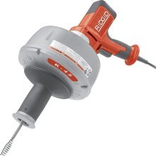 Ridgid 36013 K-45-1 Sink Drain Cleaning Machine With Slide Action Chuck