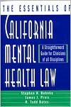 img - for The Essentials of California Mental Health Law 1st (first) edition Text Only book / textbook / text book