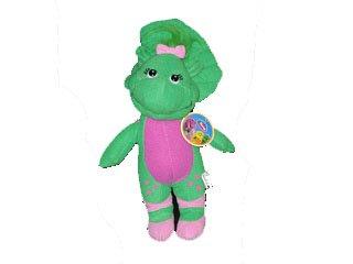 "Barney Friend Baby Bop The Dinosaur 9"" Plush Figure Doll Toy front-209331"