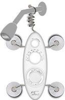 Zadro Shower Bug 2.0 AM/FM Radio In White