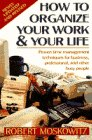 Image for How to Organize Your Work and Your Life