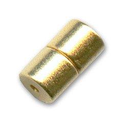 Magnetverschluß 7x4mm Gold tone x1