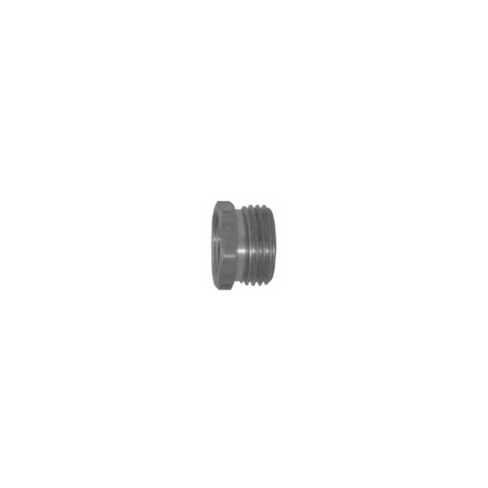 Hose Adapter 3/4 Male Garden Hose Thread x 1 Female NPT, Brass