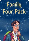 Harry Potter and the Order of the Phoenix (Book 5) - Family Four Pack