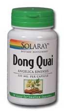 Solaray - Dong Quai Angelica Sinensis, 550 mg,
