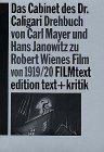 Das Cabinet des Dr. Caligari. Drehbuc...