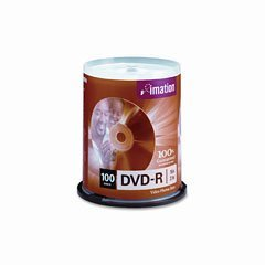 Imation 16x DVD-R 4.7GB 100 Pack Spindle