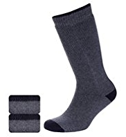 2 Pairs of Ultraheat Long Thermal Socks