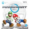 Nintendo Mario Kart with Wheel and Wii Remote - RVLRRMCE