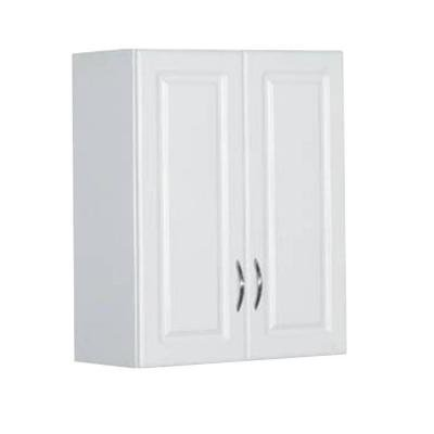 Garage or Laundry Room Wall Storage Cabinet 30 in. H White Finish with Raised Panel Door and Nickel-plated Hardware (Wall Cabinets For Laundry Room compare prices)