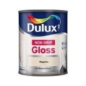 Dulux Paints 750 Ml Non Drip Gloss Pure Brilliant White