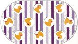 "Rubber Duck Printed Bubble Bathtub Mat - 16"" X 28"""