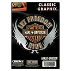 Harley Davidson - Classic Graphix Chrome Decals by Harley Davidson H99094