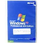 マイクロソフト WindowsXP Professional x64 Edition 日本語版 DSP/OEM