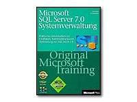 Microsoft SQL Server 7.0 Systemverwaltung - Original Microsoft Training - self-training course - CD - German