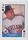 Sandy Alomar Jr. Cleveland Indians (Baseball Card) 1990 U.S. Playing Cards Major League All-Stars #2