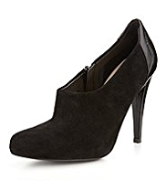 Autograph Suede Piped Shoe Boots with Insolia®