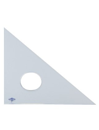 """Professional Triangle 45°/90° Scale Size: 18"""""""