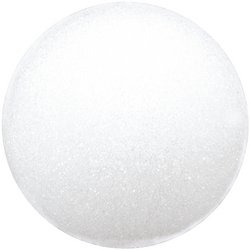 "Sale!! FloraCraft Styrofoam Ball: 6"" White"