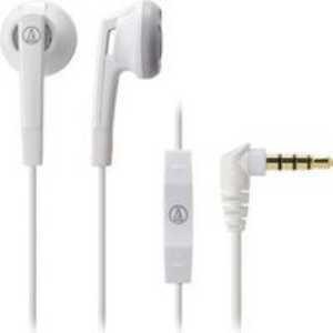 audio-technica イヤホン iPod/iPhone/iPad専用 ホワイト ATH-C505i WH