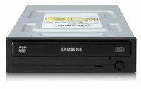 SAMSUNG SH-118AB/BEBE SH-118AB 18X DVD-ROM DRIVE SATA OEM – ( Optical Storage – DVD-RW Internal)