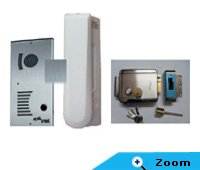 Alba Urmet Audio Door Phone Kit (Outdoor Box+Indoor Handset+Lock)