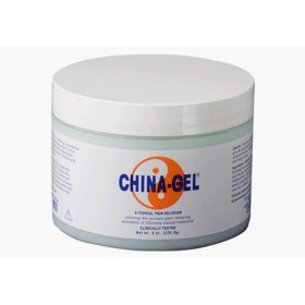 Buy China Gel Topical Pain Reliever 8 oz Jar (China Gel, Health & Personal Care, Products, Health Care, Pain Relievers, Rubs & Ointments)