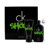 Calvin Klein CK One Shock For Him Coffret: Eau De Toilette Spray 100ml + Shower Gel 100ml 2pcs