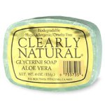 Clearly Natural Glycerine Soap, Aloe Vera - 4 oz