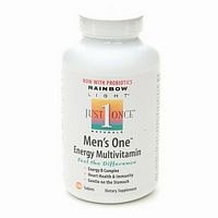 Rainbow Light Just Once Mens One Multivitamin Tablet - 30 Per Pack -- 3 Packs Per Case.