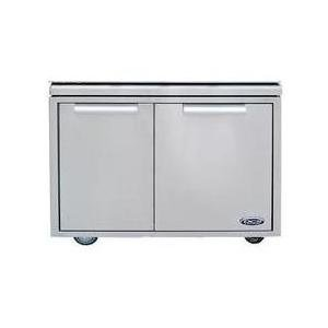 "DCS 30"" Stainless Steel Grilling Cart With Access Drawers by DCS"