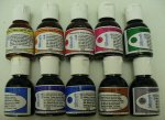 Silkcraft Silk Paints 10 X 30Ml Bottles - Steam Fixed