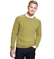 XXXL Blue Harbour Extrafine Pure Lambswool Crew Neck Jumper