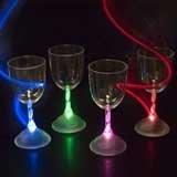 9 oz LED Light Up Flashing Wine Glass