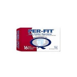 Prevail® Per-Fit® Briefs, Medium, Pack of 16 - 1