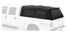 Bestop® 76317-35 Black Diamond Supertop® For Truck Bed Cover (8' Bed) For 94-12 Dodge Ram All; 99-12 Ford Super Duty F-250/350 front-73550
